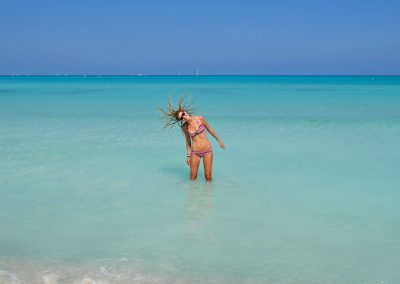 Dread Journey – Spinning my Rastas around at Varadero Beach, Cuba