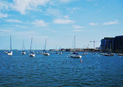Central Wharf Boston Harbor