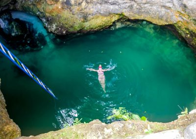 Jamaica - Blue Hole Mineral Spring