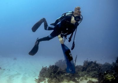 Scuba Diving - Collecting Trash
