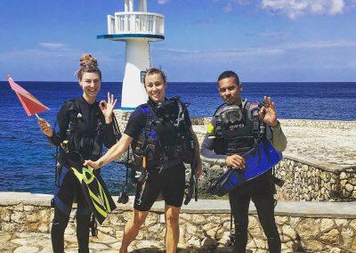 Scuba Diving - Post-Dive Group Picture