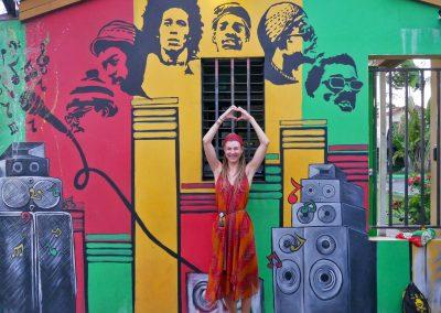 Kingston - Bob Marley and the Wailers Mural