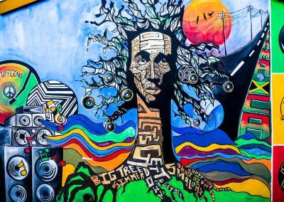 Kingston - Bob Marley Museum Graffiti