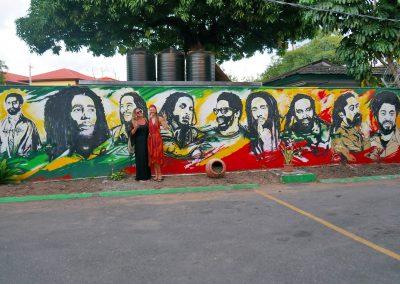 Kingston - Bob Marley Museum Mural