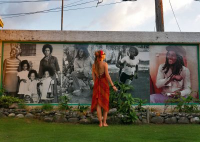 Kingston - Bob Marley Museum Picture Wall