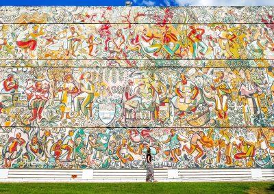Kingston - UWI Mural
