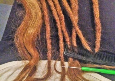 Dread Journey – Locking Extensions to make my Rastas longer