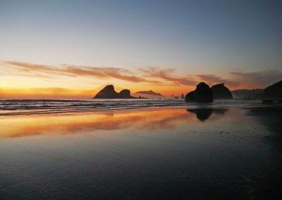 Northern California - Moonstone Beach Sunset