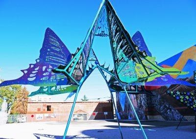 Butterfly Sculpture Art in Reno, NV
