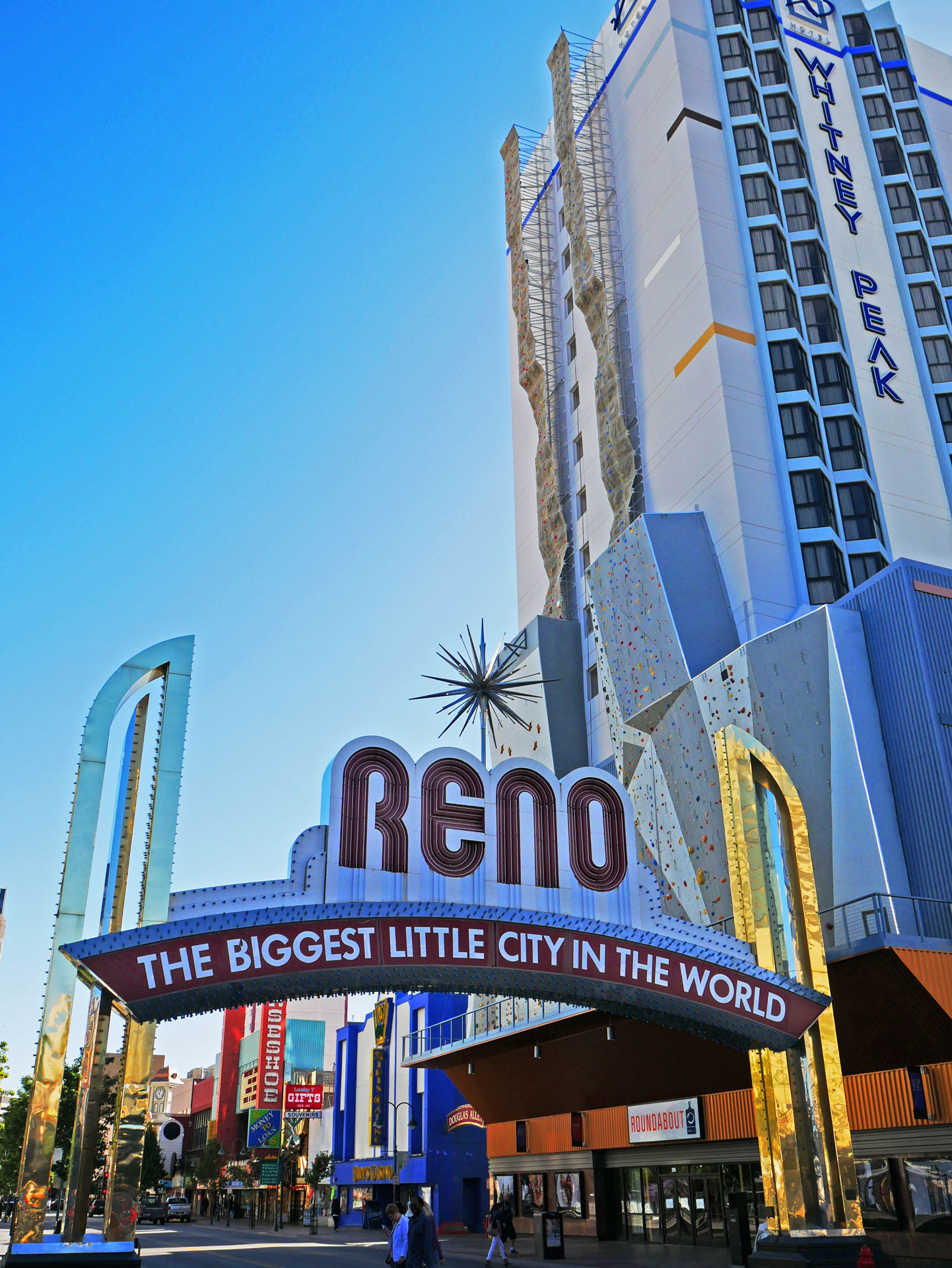 Reno, NV, sign The biggest little City in the World