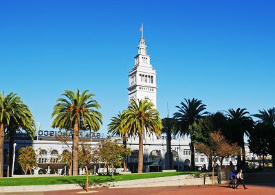 San Francisco Ferry Building Marketplace in California