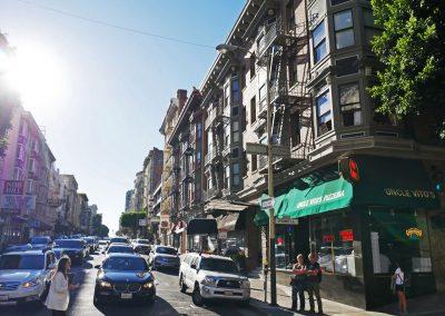 Street in San Francisco, California