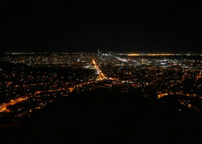 Night view over San Francisco, CA, from Twin Peaks
