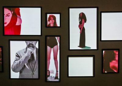 Art installation at Fábrica de Arte Cubano in Havana, Cuba