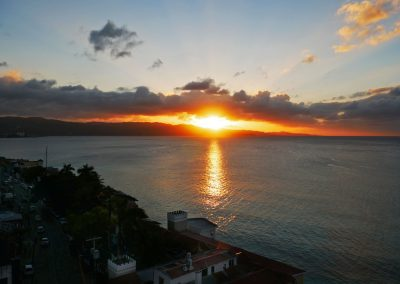 Montego Bay - Sunset from my Host's Balcony