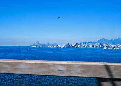 Guanabara Bay - On the Bridge to Niterói