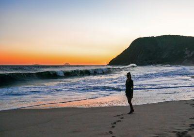 Itacoatiara - Enjoying the Sunset at the Beach