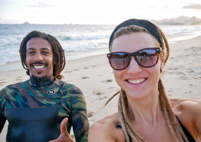 Niterói - A Happy Bodyboarder