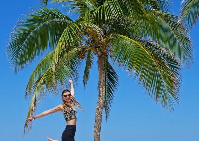 Varadero – Palm Tree Jumping at the Beach