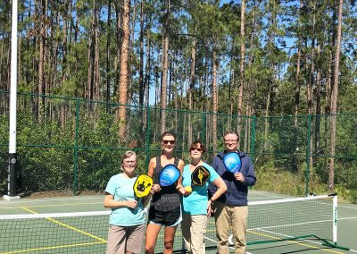Orlando – On the Pickleball Court