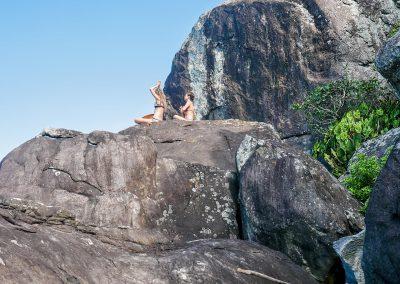 Barra do Una - Cliff Meditation