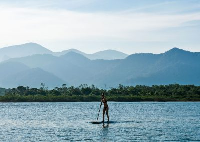 Barra do Una - Stand Up Paddling