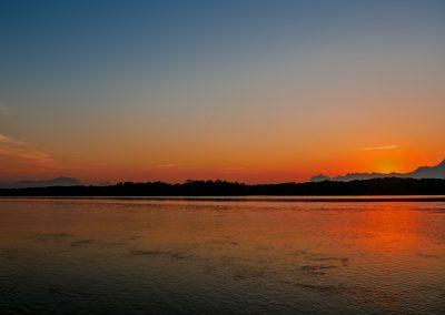 Barra do Una - River Sunset