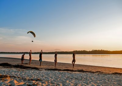 Barra do Una - Yoga During the Sunset
