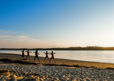 Barra do Una - Yoga next to the River