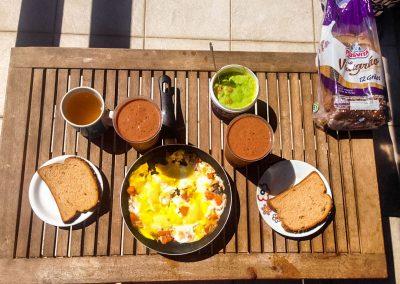 Niterói - Breakfast on Our Balcony