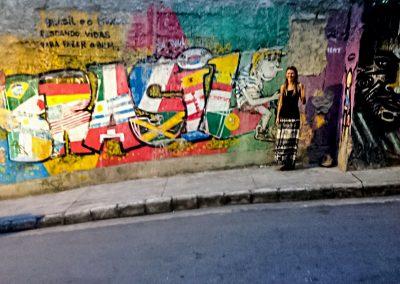 Rio de Janeiro - Graffiti in the Favela