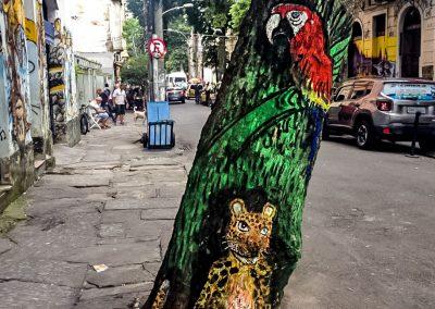 Rio de Janeiro - Street Art Tree