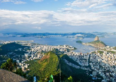 Rio de Janeiro - View from the Christ Statue