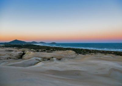 Imbituba - Dunas Da Ribanceira Sunset