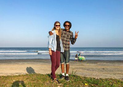 Peruíbe - Enjoying the Beach
